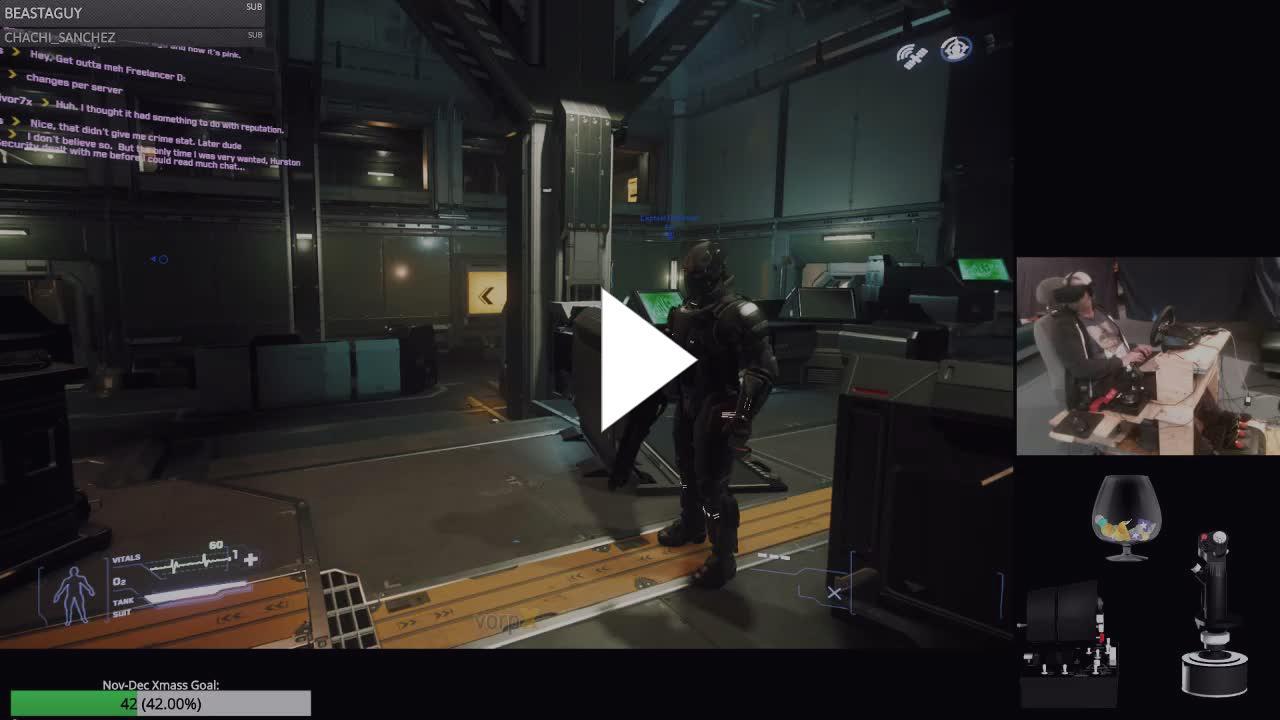 VR Citizen | Free Flight All Day | SC-Patch [3 4] & VorpX - Twitch