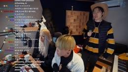 [EN/KR] Charming_Jo Dinner show with Chivee & Hanul