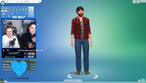 Highlight: SIMS WITH WILLNE APRT 1