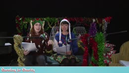 Caroling for Charity! Singing with Felicia Day, Kate Micucci and friends!