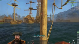 Burke arrives at blackwake port city