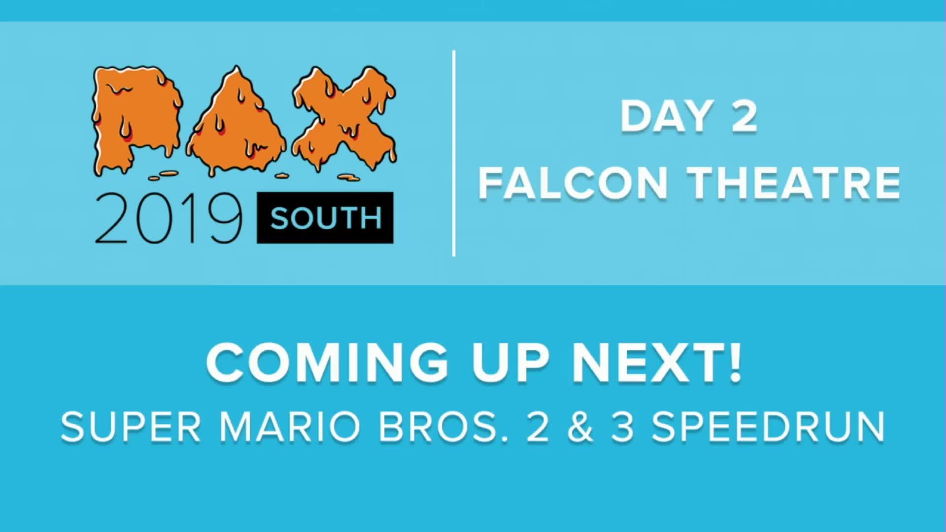 PAX2 - PAX SOUTH 2019 - Super Mario Bros  2 & 3 Speedrun