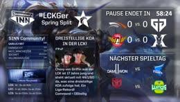 LCK Spring Split   Woche 4, Tag 1 [GER]