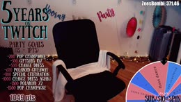 Jan 22, 2019 - 5 YEARS on Twitch!   Champagne + Giveaways + Wheel of Fun + much more...   COME CELEBRATE w/ME