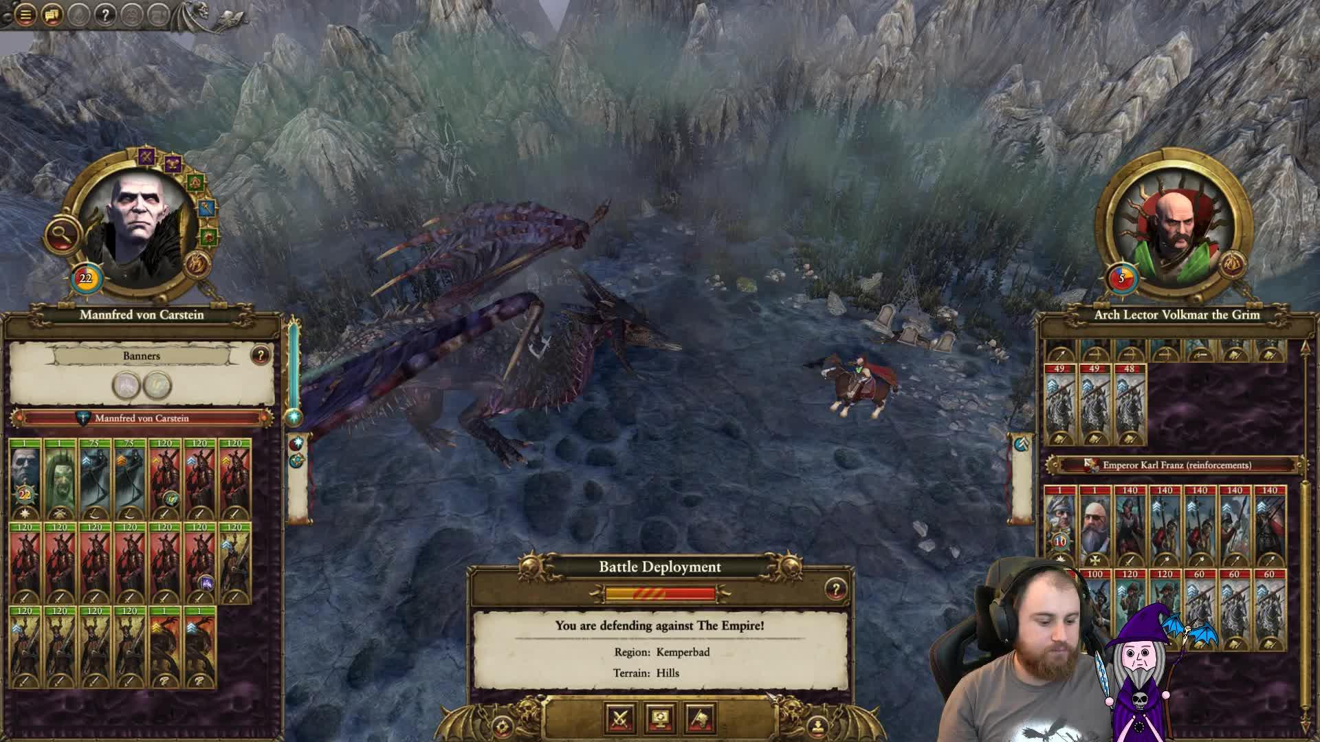 lionheartx10 - Total War: Warhammer 2 - Barrow Legion Campaign SFO