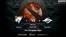 Full: [LIVE-THAI] 🏆 The Chongqing Major - Main Event Finals - 27/01/2019 - Cyberclasher