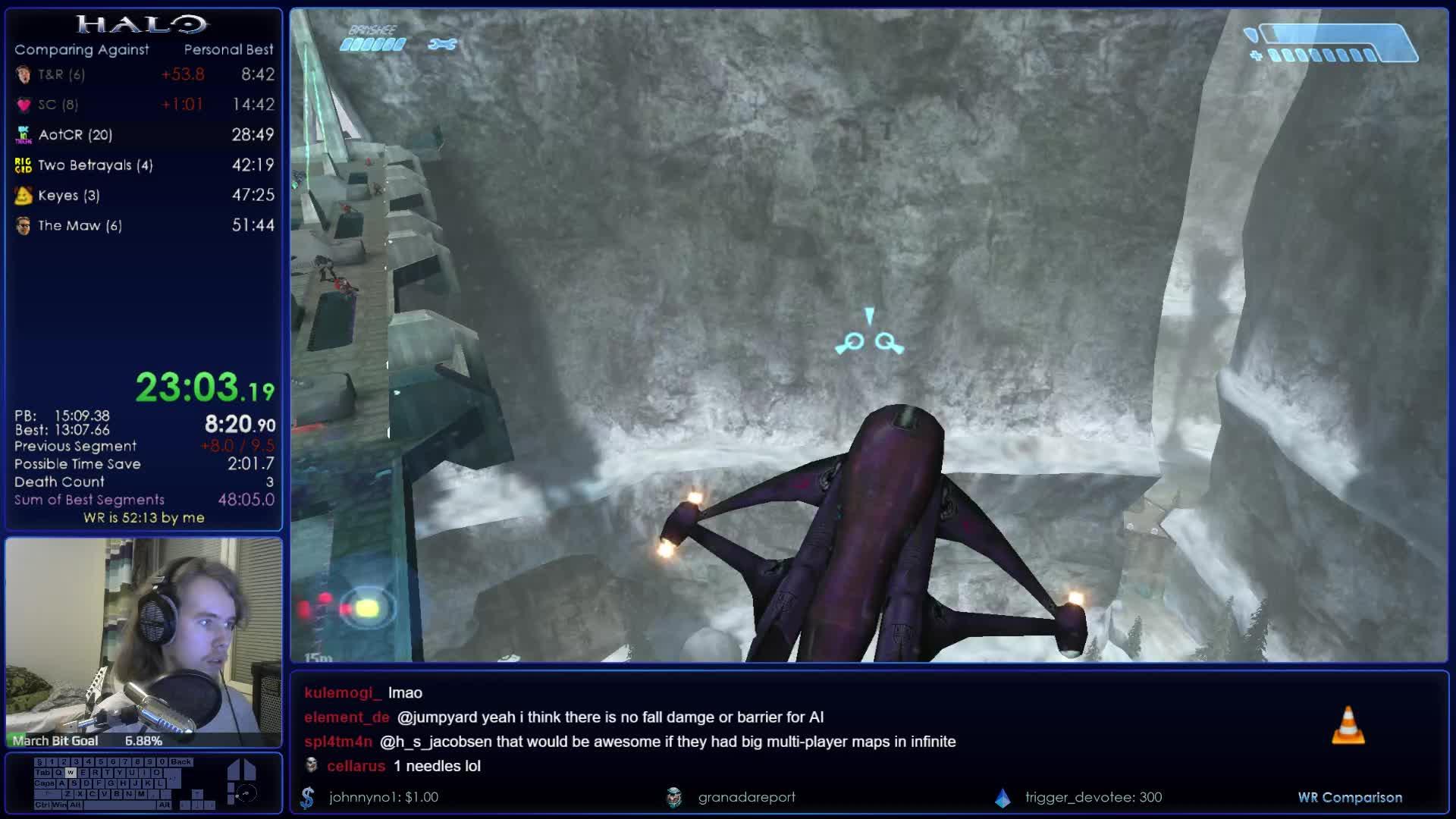 GarishGoblin - Halo Legendary Speedruns w/ Garish || 1080p60