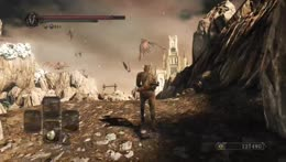 Highlight: Dark souls 2 fists only boss fight