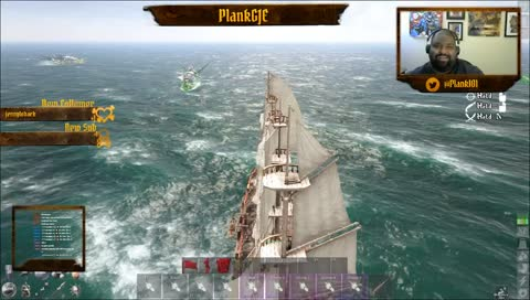 Full broadside from our new galleon the Cou Crayon @Falchion757 #GOJUICEEXTRAVAGANZA