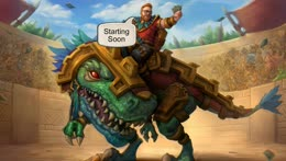 Hearthstone stuff.   |   Discussion Topic: What do you think of who is under the last card?