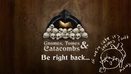 gnomes, tomes & catacombs 14 ft. ppl.