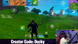 MOBILE (28k kills, 1,350 wins) | Creator Code: Ducky