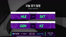 HLE vs. SKT - GEN vs. KZ | Week 8 Day 4 | LCK Spring Split (2019)