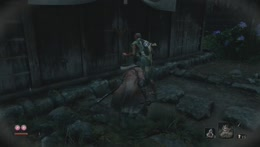 MAN vs SEKIRO: SHADOWS DIE TWICE (PC - Game provided by Activision)