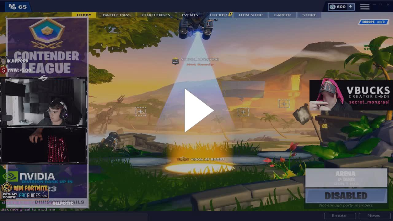 Mongraal - Arena 136 Points - Twitch