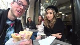 !EU TRIP DAY 6 - Paris w/ @Pokimane - !YouTube !Jake !Discord - Follow @JakenbakeLIVE