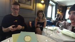 poki and jake in paris :)