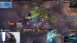 Mythic+ ENTIRE EVENING | Re-made UI a bit