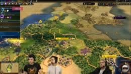 Armchair Admirals w/ Lewis, Dr Simon Clark, Rythian & Daltos! - Civilization VI!