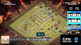 ESL Mobile Open - Clash of Clans Playoffs Day 3