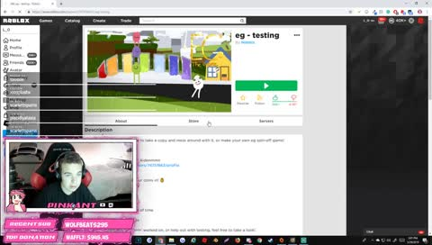 playing bad roblox games
