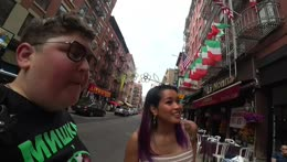 NYC with @RaquelLily