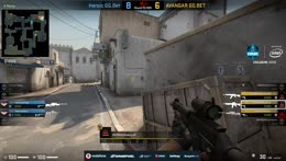 es3tag - 1vs2 AWP clutch (CT - post-plant situation)