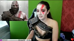 Highlight: Full Try On +  Props (Cosplay making - Kratos, God of War -)