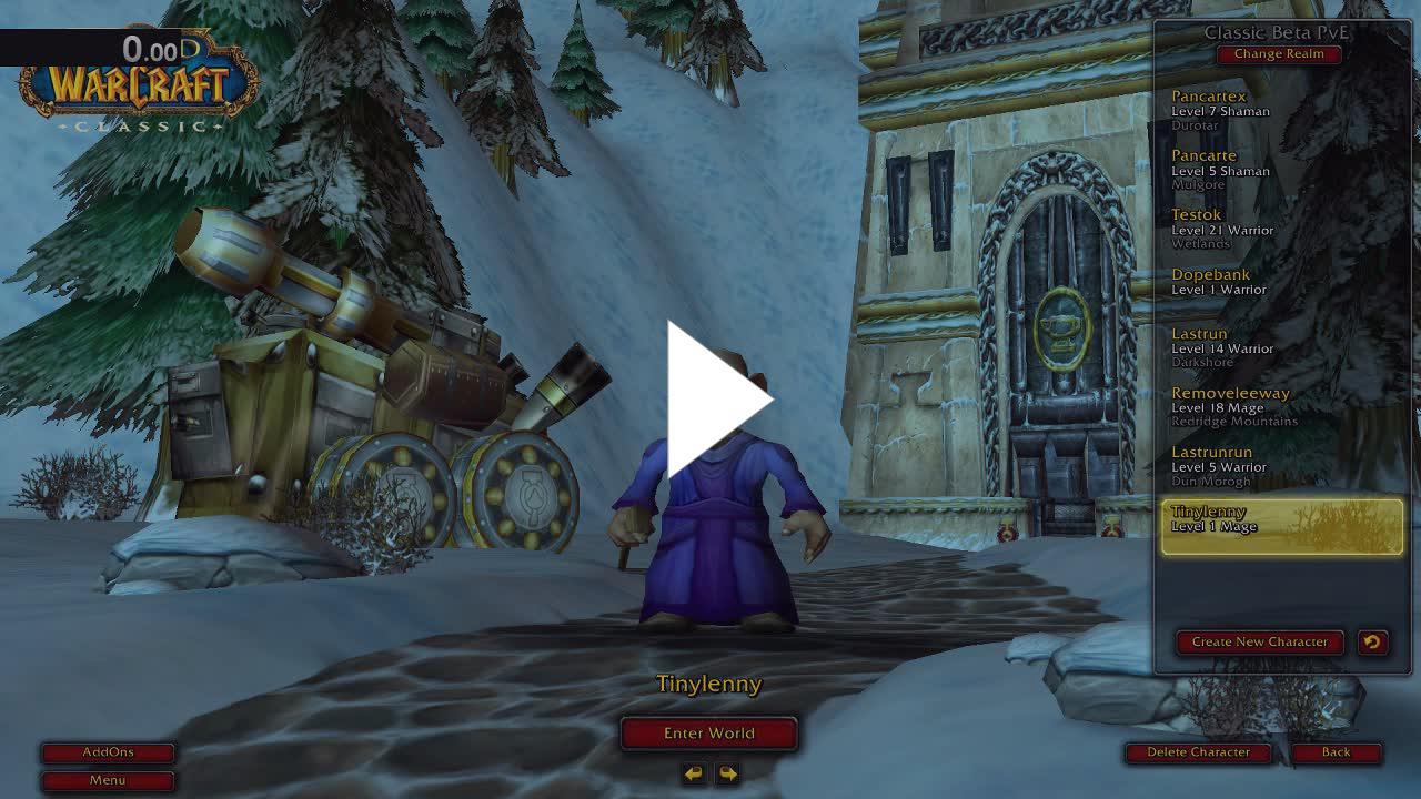 JokerdTV - 1-20 Classic Beta Mage Speedrun, 8hr 22min - Twitch