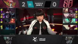 SB vs. SKT | Playoffs Round 1 | LCK Summer | SANDBOX Gaming vs. SK telecom T1 (2019)