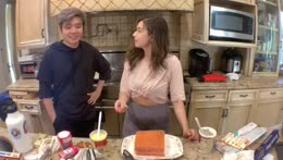 baking a cake for no reason