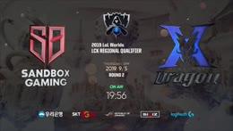 [2019 LoL 월드챔피언십 한국대표팀 선발전] Round 2 | SB vs. KZ