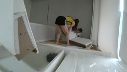 BUILDING IKEA IN NEW HOUSE :)