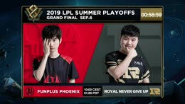 FPX vs. RNG | Finals | LPL Summer | FunPlus Phoenix vs. Royal Never Give Up (2019)