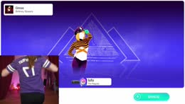 just dance stream ;) yay for cardio