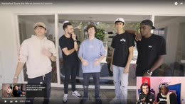 REACTING TO HOUSE TOUR (A WEST COAST STREAM)    100 Thieves Mob House Los Angeles