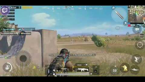trying to save a fallen teammate :'(