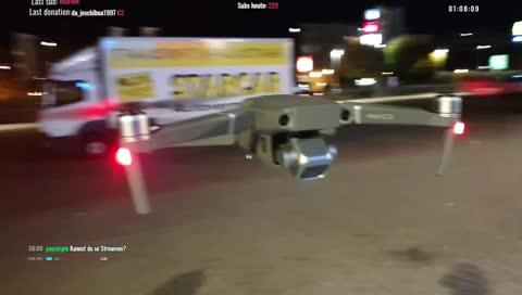 Drohne 1:0 Tanzverbot