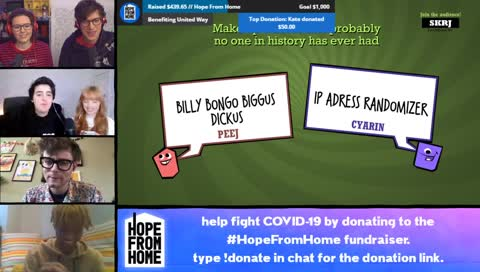 FIGHTING THIS PANDEMIC WITH JACKBOX GAMES #HopeFromHome