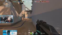 Clip: C9 TenZ playing VALORANT Jett main xD