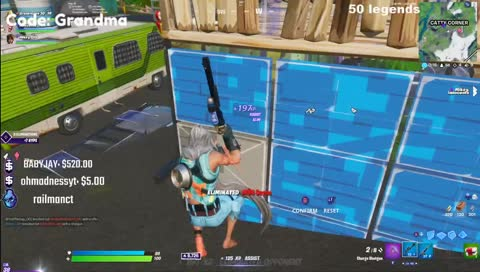 Grandma - trio arena with keys brother and scoped/tfues trio fill