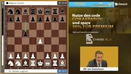 Magnus Carlsen trifft im chess9LX auf Garry Kasparov (und andere)! Jan kommentiert