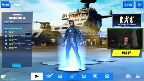 Fortnite Season 4 on Mobile