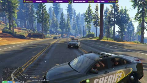 Tyrone Gets Downed by Dr. Cop :)