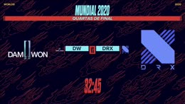 Mundial 2020: Fase Eliminatória - Md5 | Quarta de Final 1