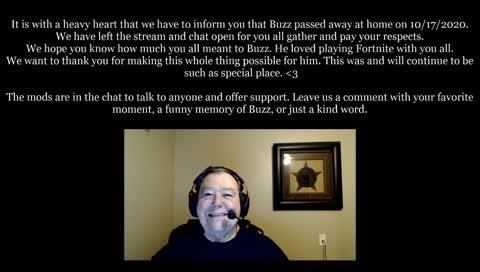 Oldbuzzardt has passed away.