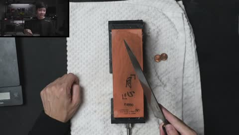 sleightlymusical - attempting to sharpen knives manually