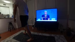 PRES DEBATE WATCHPARTY / Home Workout / Games After? - !Youtube !Discord - Follow @jakenbakeLIVE on !Socials