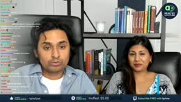 Kruti and Dr. K surprise AMA in twitch van