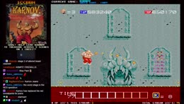 1CCBBH - 1 Credit Clears on arcade games featuring Karnov! !1CCBBH